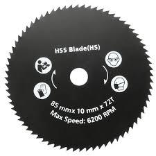 metal cutting circular saw blade. newest 1pc 85mm 72t hss circular saw blade cutting disc wheel for worx worxsaw wood metal e