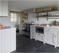 big tiles in small kitchen modern looks make a statement with