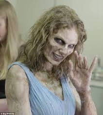 changes taylor swift 27 is seen transformed into a zombie in a new