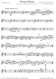 Blasorchester: Nessun Dorma