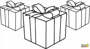 Small Picture Presents Coloring Pages Christmas Presents Coloring Pages With