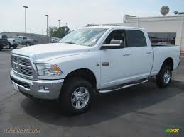 2010 Dodge Ram 2500 Big Horn Edition Crew Cab 4x4 in Bright White ...