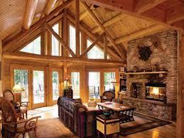Interior Log Cabin Interior Design Living Room Small Cabin .
