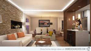 brick wall living room design Brick Wall Accents in 15 Living Room Designs    160919   Pinterest   Wall accents, Bricks and Living rooms