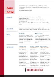 Resume Format 2017 Inspiration RESUME FORMAT 60 60 Free To Download Word Templates