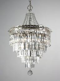 ideas tier chandelier or sold stunning antique silver plated five tier chandelier with crystal prisms c luxury tier chandelier