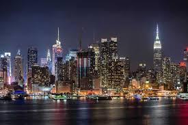 New York City Skyline At Night Tour