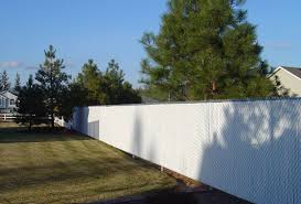 Delighful Chain Link Fence Slats White Pds With 2 Intended Design Decorating