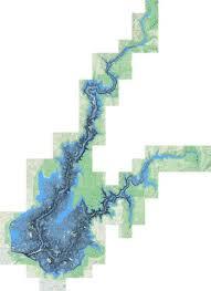 Folsom Lake Fishing Map Us_ca_folsomlake Nautical