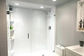 tile over shower pan full size of walk custom fiberglass sizes wall fiberglass shower pans