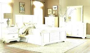 Distressed Bedroom Sets White Furniture Bed Set Home Improvement ...