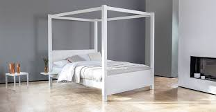 white four poster bed queen. Unique Four Four Poster Wooden Bed Frame Double King Queen White Available By Get Laid  Beds X Epic To G