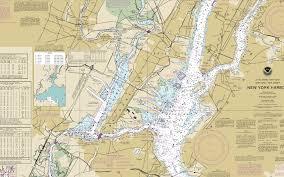 New York Harbor Nautical Charts Noaa No Go Zones