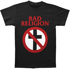 <b>BAD RELIGION</b> Band Classic Cross Buster Logo <b>T</b>-<b>Shirt</b>: Amazon.ca ...