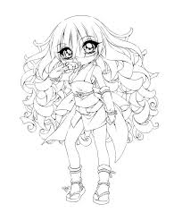 Small Picture Girl Anime Girl Coloring Pages For TeensAnimePrintable Coloring