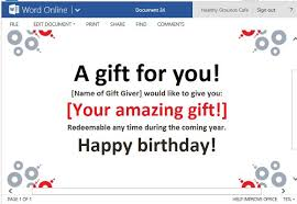 Word Templates For Gift Certificates Best Gift Certificate Templates For Word Online
