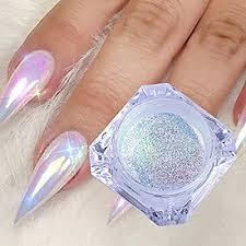 Vonrui 1 Box Holographic Nail Glitter Powder ... - Amazon.com