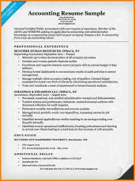 8 Cpa Resume Example Grittrader