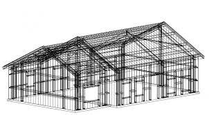rediron steel house kit