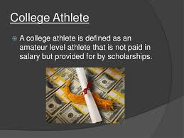 paying college athletes college