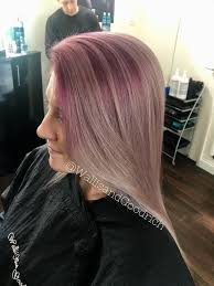 Mauve Root Silver Ends
