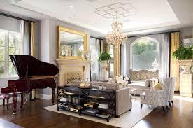 formal sitting room chandelier