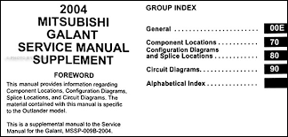mitsubishi galant wiring diagram manual original covers all 2004 mitsubishi galant models including de es ls and gts this book is in new condition measures 8 5 x 11 and is 0 75 thick