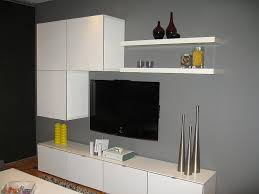 Furniture Accessories:Simple Ikea Tv Stand Small Tv Cabinet Design With  Twin Color White And