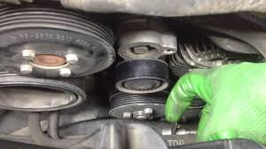 bmw e e how to change your serpentine belt bmw e65 e66 how to change your serpentine belt