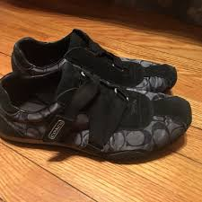 Coach Sneakers Size Chart Coach Sneakers Black Womans Size 9