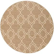 9 round outdoor rug 9 round camel and cream indoor outdoor rug alfresco furniture 6