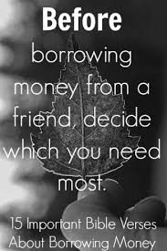 Christian Money Quotes Best Of 24 Important Bible Verses About Borrowing Money