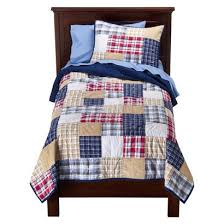 Boy plaid | Kid Spaces | Pinterest | Plaid quilt, Plaid and Blue rooms & Circo Boy Plaid Quilt Set - Twin on sale. Find great prices on additional  Kids' Bedding at Bizrate. Adamdwight.com