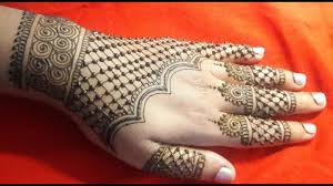 Latest Mehandi Designs For Diwali Karwachauth Special Diwali Special Latest And Simple