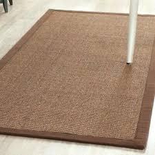 natural fiber brown sisal area rugs rug 8x10