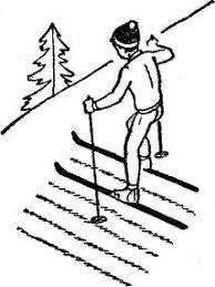 Реферат лыжная подготовка Реферат С этим способом учащихся уже знакомили в начальных классах Нужно следить чтобы учащиеся особо энергично отталкивались нижней по отношению к склону ногой