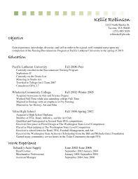 Resume Cashier Resume Objective Exol Gbabogados Co For Restaurant