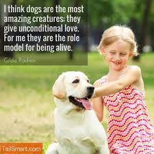 Dog Quotes Love Custom Dogs Give Unconditional Love Gilda Radnor [quote] TailSmart