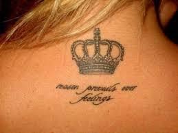 Hodnota Tetování Ve Tvaru Koruny