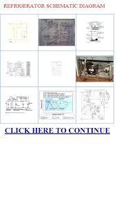 refrigerator schematic diagram spare parts refrigeration cycle Refrigerator Schematic Diagram refrigerator schematic diagram refrigeration schematic diagram