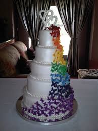 Butterfly Wedding Cake Cakecentralcom