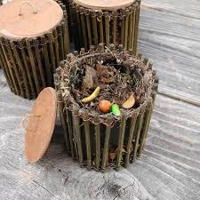 miniature garden compost bin for mini gardeners only handmade ooaks via