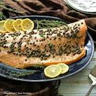 baked salmon with lemon and capers