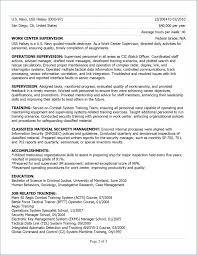 Military Veteran Resume Examples Resume Example