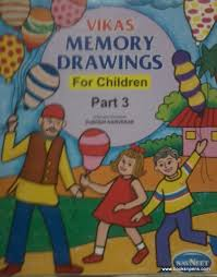 a drawing and colouring book in which u can make your child draw and also colour some things like pictures