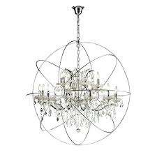 extraordinary orb chandelier light iron crystal orb chandelier restoration hardware orb chandelier knock off