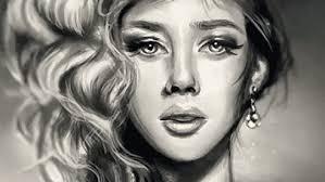 Digital Portrait Painting Digital Portrait Painting In Adobe Photoshop
