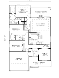 house plans for narrow lots on waterfront cottage house for narrow lot one story house plans