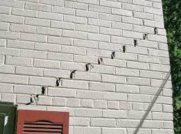 foundation repair seattle. Beautiful Seattle Stairstep Cracks Showing In A Home Foundation Snohomish Throughout Foundation Repair Seattle O