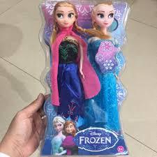 Báo giá Búp bê Elsa & Anna 29cm hộp nhựa kính chỉ 85.000₫